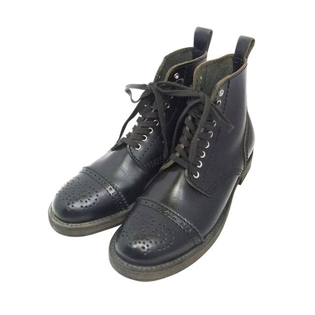 COMME des GARCONS HOMME  レースアップブーツ