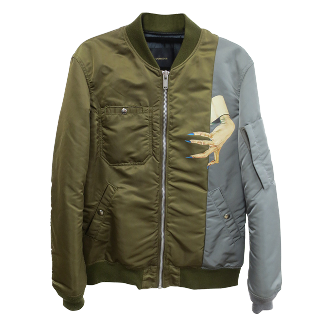 UNDERCOVER  15AW D-HAND MA-1
