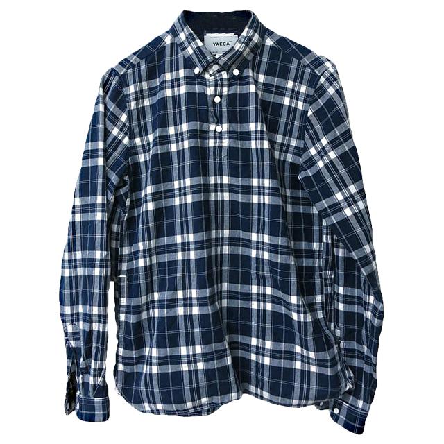 YAECA  チェックシャツ