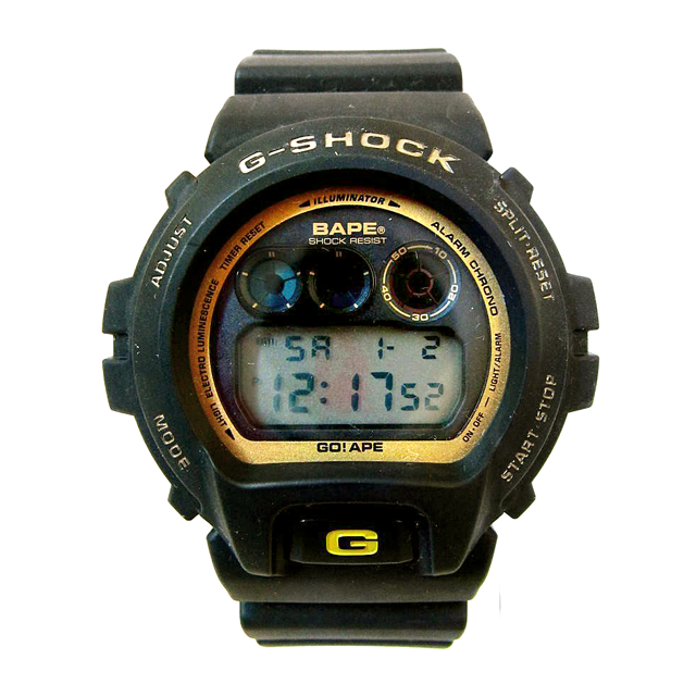 A BATHING APE   G-SHOCK BAPE