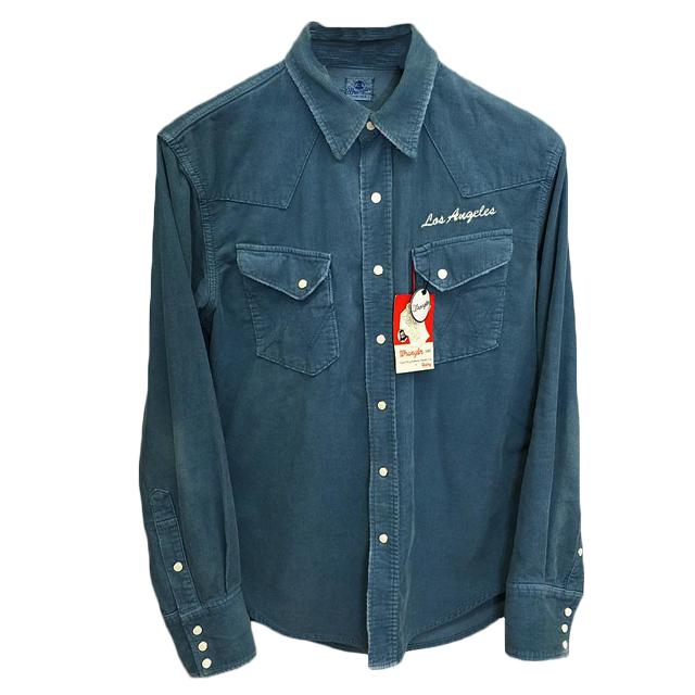 Ron Herman  ×ラングラー コ-デュロイシャツ