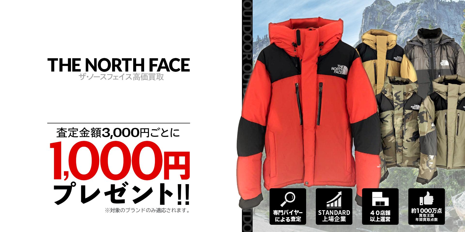 THE NORTH FACEのキービジュアル