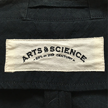 ARTS&SCIENCE(アーツアンドサイエンス)ロゴ