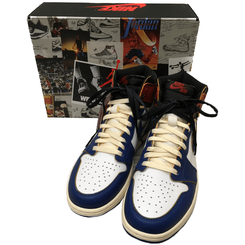 NIKE AIR JORDAN 1 RETRO HIGH NRG BLUE TOE